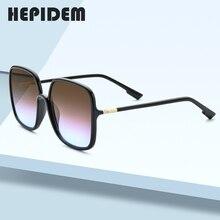 HEPIDEM 2020 New Acetate Square Sunglasses Men Gentle Brand