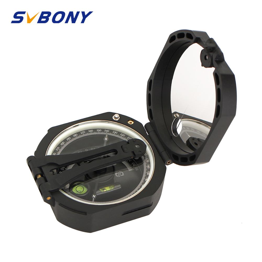 SVBONY Compass Professional Military Outdoor Survival Camping Equipment Geological Pocket Compass Lightweight F9134
