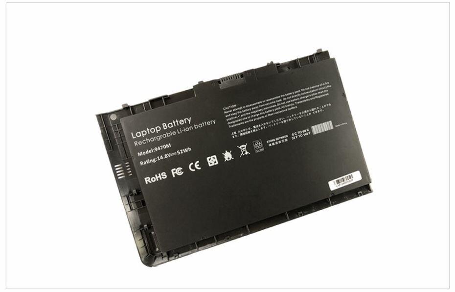 Pinzheng-bateria para laptop, compatível com hp elitebook