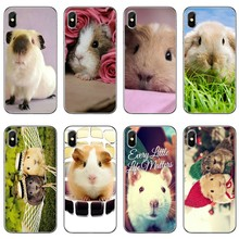 lovely Guinea pig animal Phone Case Back Cover For iPhone 11 Pro XS Max XR X 8 7 6 6S Plus 5 5S SE 4s 4 iPod Touch(China)