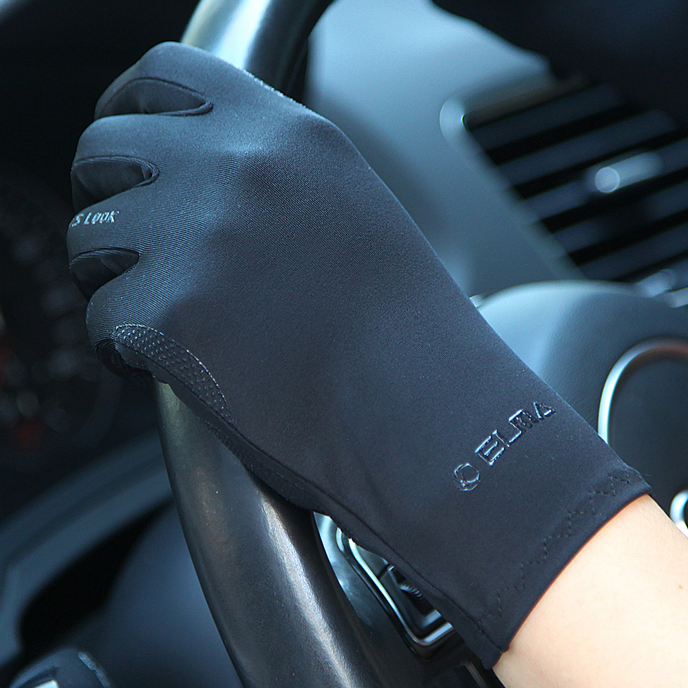 Clearance SaleSunscreen-Gloves Spring Silk Thin Ladies Summer Female Breathable Ice Autumn Non-Slip