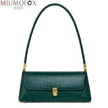 Fashion Genuine Leather Shoulder Bag Armpit Bags for Women 2021 Trend Women s Purses and Handbags Luxury Designer Hand Bag Women