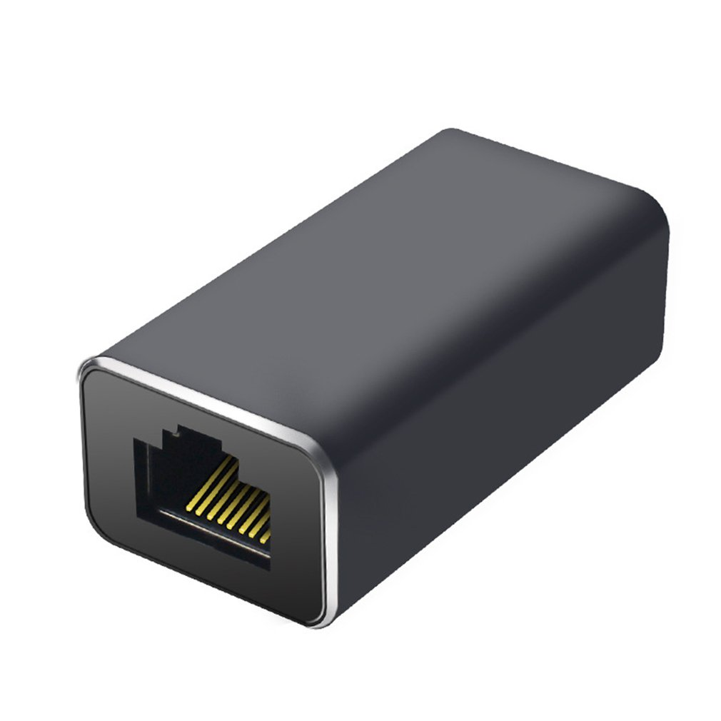 RJ45 Connector Cat7/6 Ethernet Adapter Network Extender Convertor Extension Cable for Ethernet Cable Female to Female