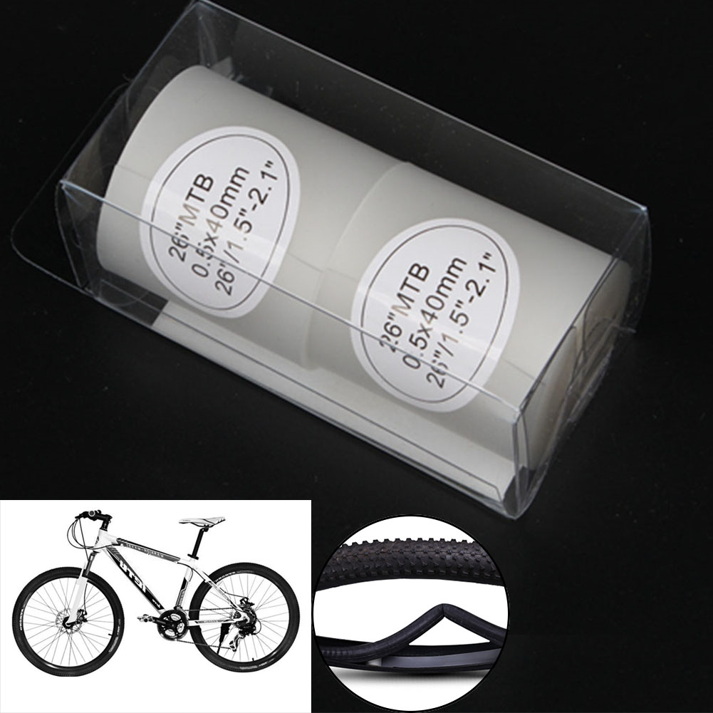 2X MTB Bike Tire Liner Puncture Proof Belt Protection Pad For Road Bike WE