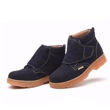 Мужские Ботильоны; рабочие ботинки из натуральной кожи; Безопасная