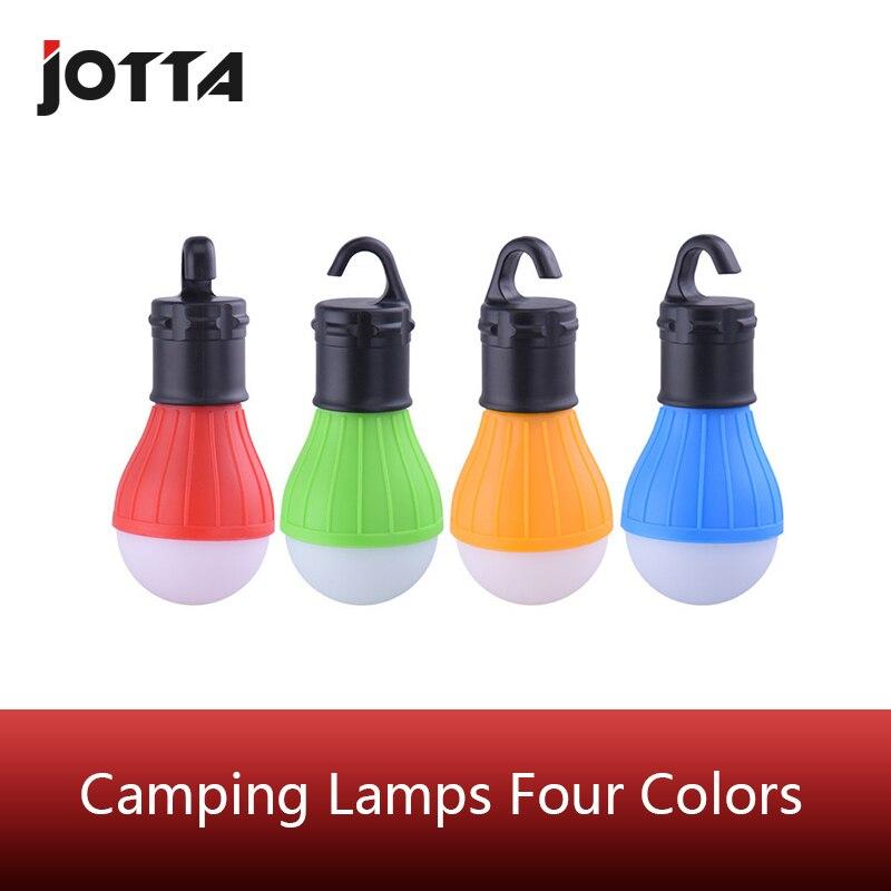 Переносная наружная подвеска, 3 светодиодных фонаря для кемпинга, мягкое освещение, светодиодные лампы для кемпинга, палатки, рыбалки, 4 вида цветов батареей AAA