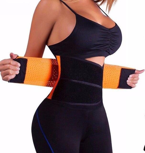 2020 Fashion Waist Cincher Girdle Belt Hot Power Slimming Belt Body Shaper Waist Trainer Trimmer Sport Gym Sweating Fat Burning 2
