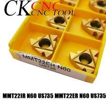 Insertion de coupe de filetage 3.5-6mm, filetage CNC, filetage de tournage, insertion en carbure pour SER/SNL 10 pièces