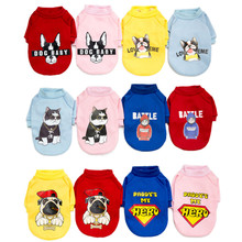 Fashion Dog Clothes Spring Pets Dogs Clothing For Small Medium Dogs Costume Leisure Dog Hoodie Chihuahua Puppy Outfit Ropa Perro leisure cartoon chihuahua dog clothes for puppy overalls 2019 spring dog clothes for small dogs coats jackets puppies clothing