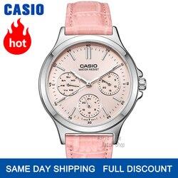 Часы Casio женские наручные часы Set top brand люкс 30м Водонепроницаемые кварцевые наручные часы Светящиеся женские подарки Часы Спортивные часы ж...