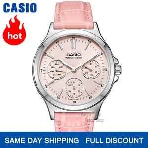Image 1 - Casio watch đồng hồ nữ Set hàng đầu thương hiệu sang trọng 30m không thấm nước Quartz Đồng hồ đeo tay Phụ nữ sáng dạ Quà tặng Đồng hồ thể thao nữ relogio feminino reloj mujer montre homme bayan kol saati zegarek damski