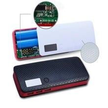Usb порты 5x18650 DIY портативный держатель батареи ЖК-дисплей внешний Аккумулятор Чехол Коробка Чехол