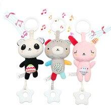 Baby Rammelaars Mobiles Peuter Speelgoed Bed Opknoping Speelgoed Voor Pasgeboren Baby Zacht Bed Bel Dier Muzikale Montessori Mobiele Rammelaars Gift