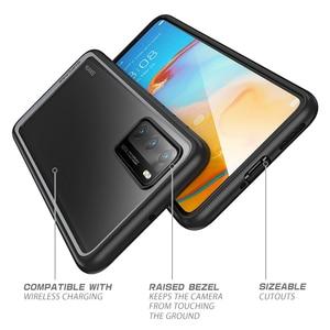 Image 5 - Pour étui Huawei P40 (sortie 2020) SUPCASE Style UB mince Anti coup de protection hybride Premium pare chocs + PC étui transparent