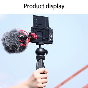 Image 2 - UURig C G7X  Vlog L Plate for Canon G7X Mark III Metal Vlogging Plate Mount with Cold Shoe for Microphone LED Light