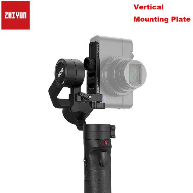 Zhiyun Universal Smartphone Gimbal ขาตั้งกล้องอะแดปเตอร์โทรศัพท์มือถือหมุนคลิปสำหรับเครน/2/plus/M สำหรับ iPhone X 8 สมาร์ทโฟน