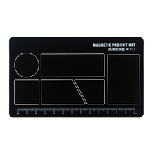 Mobile-Phone-Repair Screw-Pad Work-Mat Magnetic of Marked Clearly Grids-To-Position-The-Screws