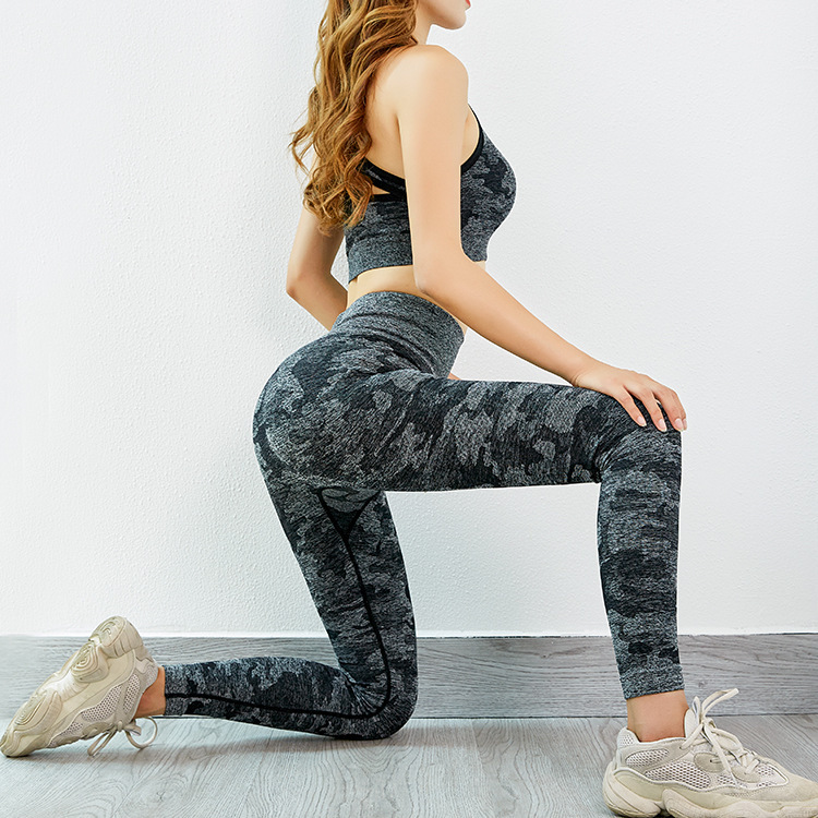Women Gym Set Clothes 2 Piece Yoga Set Sports Bra And Leggings Jogging  Seamless Workout Sports Tights Women Fitness Sports Suit