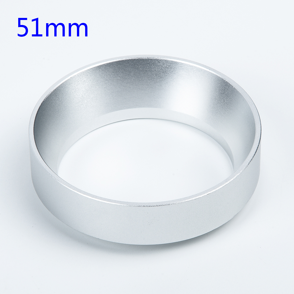 Professional For Espresso Coffee Dosing Ring 51mm-58mm Dia Dose Funnel Aluminum
