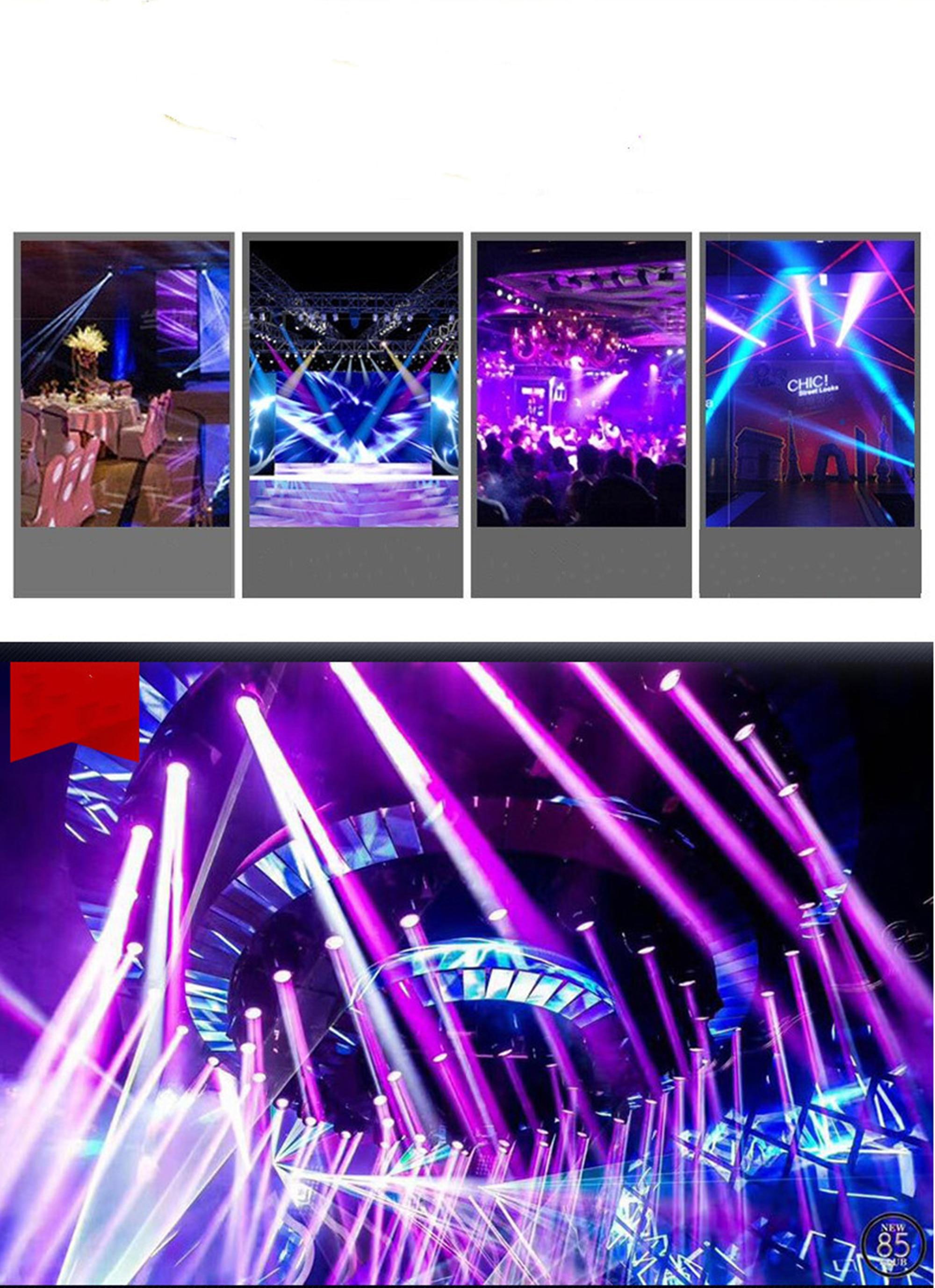 Cob superfície luz de palco luz 30w