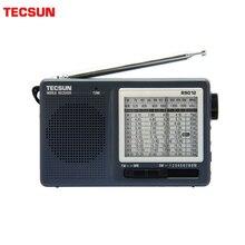 TECSUN R 9012 FM/AM/SW 12 bantları taşınabilir cep tarzı yüksek hassasiyetli radyo alıcısı ücretsiz kargo