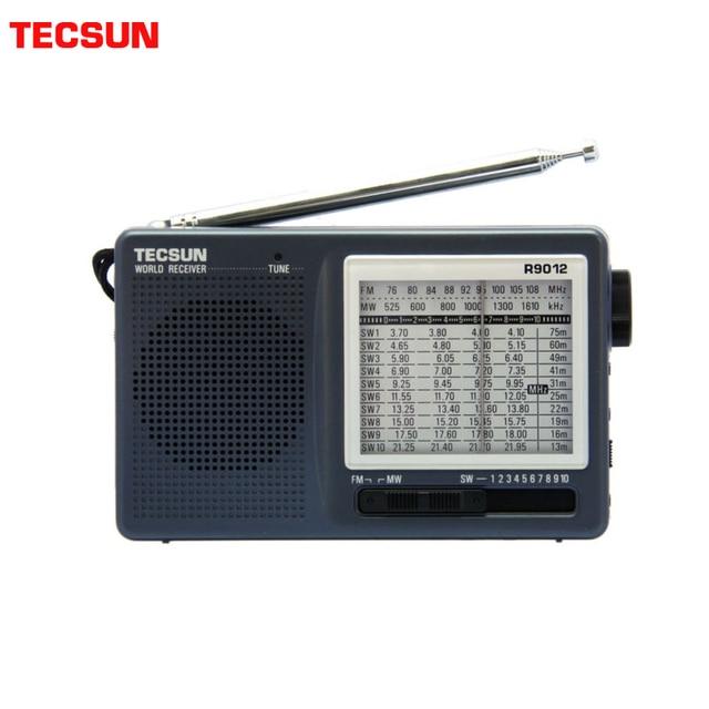 TECSUN R 9012 FM/AM/SW 12 להקות נייד כיס סגנון רגישות גבוהה רדיו מקלט משלוח חינם