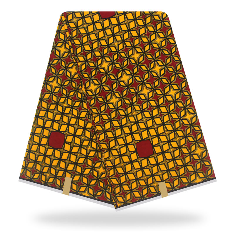 Veritable Wax Guaranteed Real Dutch Wax High Quality Dutch Veritable Wax African Ankara Print Sewing Fabric