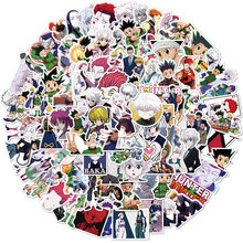 Hunterxhunter comic anime japonês adesivos gon freecss killua zoldyck diy scrapbooking dary planejador diário papelaria adesivo