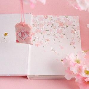 """Image 5 - """"Cherry Blossom"""" sztywne etui pamiętnik piękna sztuka rysunki notatnik dziennik notatnik darmowe notatki biurowe prezent"""