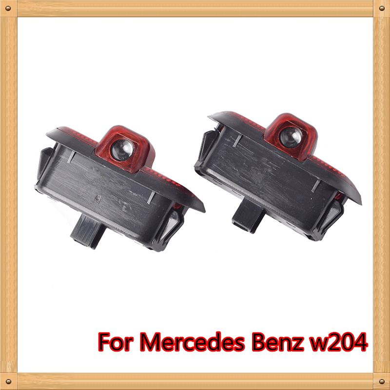 2X for <font><b>Mercedes</b></font> <font><b>benz</b></font> C Class <font><b>W204</b></font> 2008-2014 C180 <font><b>C200</b></font> C250 C300 C350 LED Car Door Welcome Light Projection Logo Laser Door lamp image