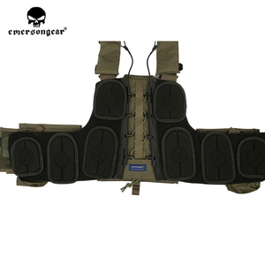 Image 5 - Emersongear CPC צלחת Carrier כבד Duty Carrier פלייט ריינג ר ירוק טקטי Vest MOLLE ציד צבאי צבא גוף שריון