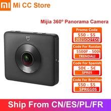 Xiaomi-cámara panorámica Mijia 360, Videocámara portátil de 3,5 K, clasificación IP67, WiFi, Bluetooth, minicámara deportiva