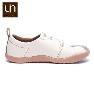 Image 4 - UIN דוב קטן עיצוב ילדים נעליים יומיומיות מיקרופייבר עור לבן נעלי ספורט עבור בנים/בנות אופנה נעלי ילדי נוחות דירות