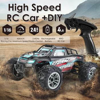 Remote Control Car Toy 1:16 Racing Car Truck Off-road Vehicle Electric Toy High Speed Car Vehicle Electronic Hobby Toys