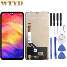 For Xiaomi Smartphone LCD Screen Digitizer Full Assembly Replacement Part for Xiaomi Redmi Note 7 / Note 7 Pro Display Repair