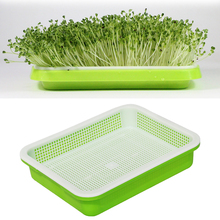 Garden Pot Garden Supplies Double-layer Plastic Flower Basket Flower Plant Sprouting Tray Box Sprout Seedling Tray plant pot