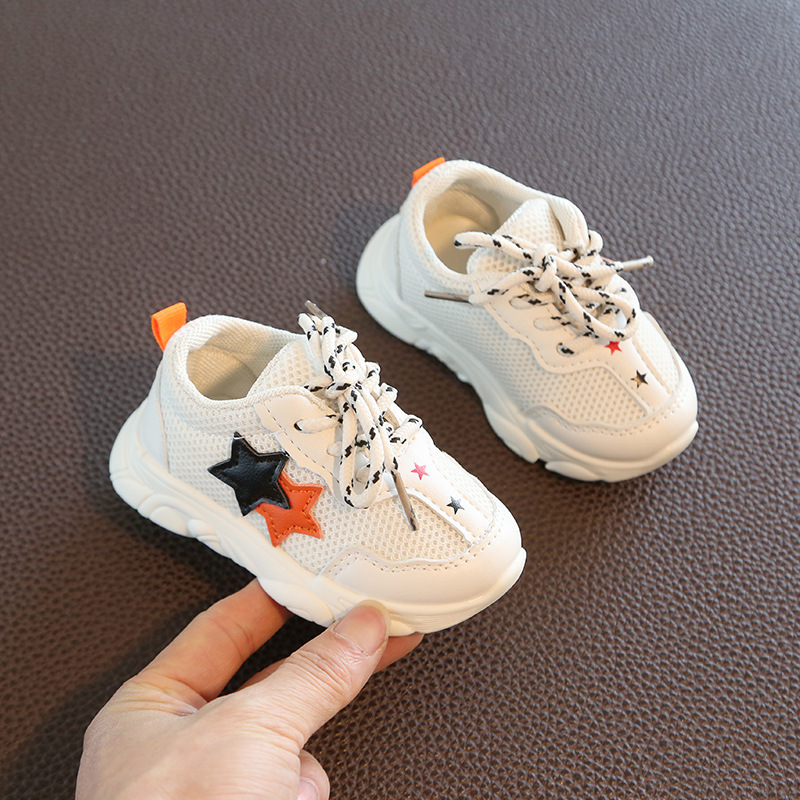 2020 New Baby Princess Shoes Soft Bottom 1-2 Years Old Baby Toddler Shoes Fashion Sneakers