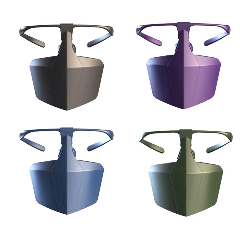 Protective Coronavirus Masks Face Shield Against Anti-fog Isolation face shield Breathable Reusable Protective Cover Dropship 6