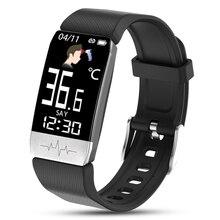 2020อุณหภูมิสมาร์ทสร้อยข้อมือผู้ชาย24ชั่วโมงการตรวจสอบอุณหภูมิ Smartwatch นาฬิกาข้อมืออิเล็กทรอนิกส์ GPS สำหรับผู้หญิงเด็ก