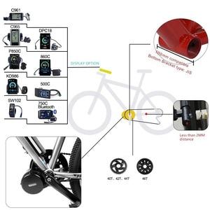 Image 5 - Bafang BBSHD 48V 1000W 100 MILLIMETRI Ebike Bicicletta Elettrica Motore G320.1000 Metà Auto Kit di Conversione Bici Elettrica per grasso bici