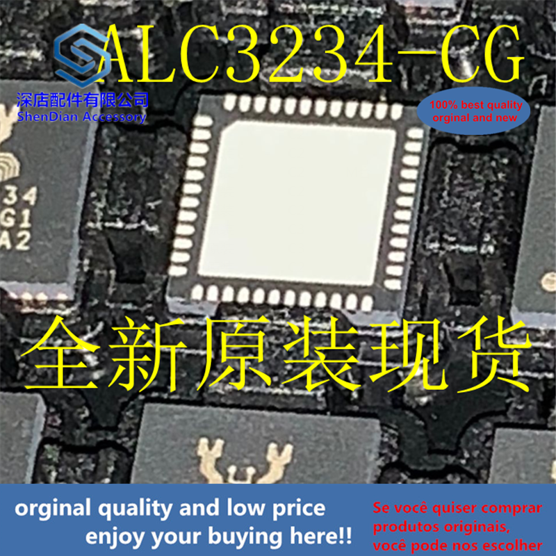 5pcs 100% Orginal And New ALC3234-CG ALC3234 QFN48  Best Qualtiy