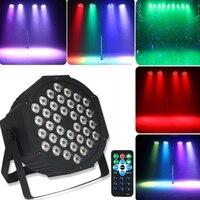 RGB LED Par Lights 36LED Stage Light RGB Wash DJ Disco Light DMX512 Party Wedding Christmas Decorative Light With Remote