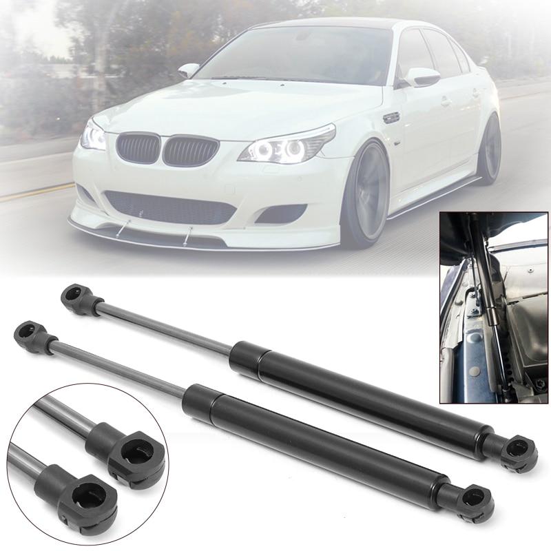 2Pcs Front Bonnet Hood Lift Support Shock Strut For BMW E60 E61 525i 528i 530i