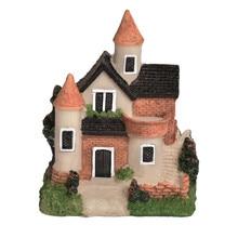 Милый мини-домик из полимерной глины миниатюрный домик Сказочный Сад Микро пейзаж домашние декоративные украшения из полимера для сада ремесла 4 стиля цвет случайный