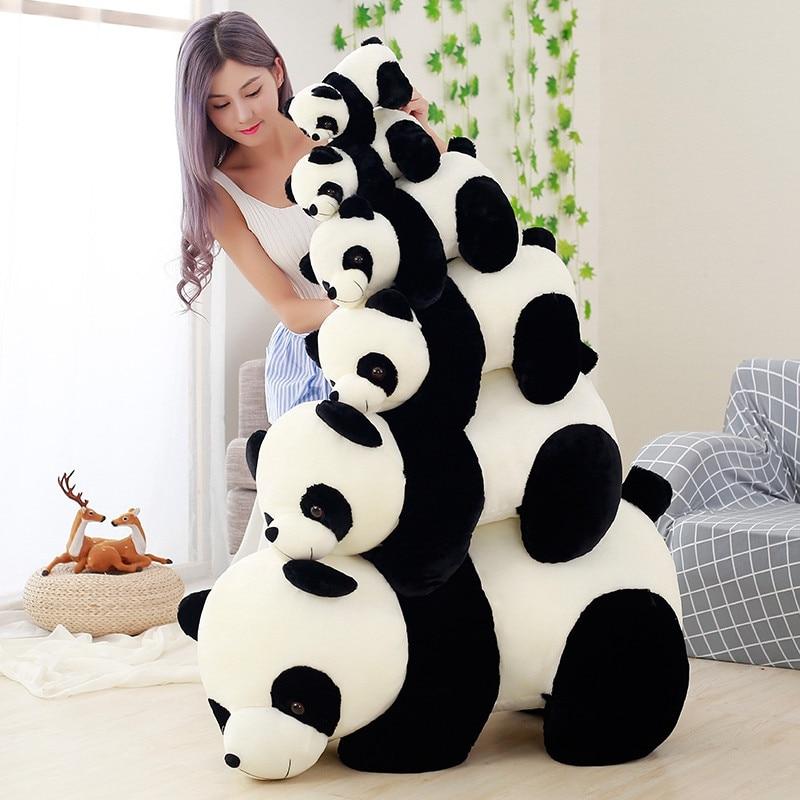 Милая Детская большая панда, плюшевый мишка, чучело, кукла, животные, игрушка, подушка, мультфильм, каваи, куклы, девушки, любовные подарки
