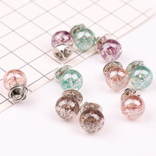 2 Pcs Wanita Lucu Mini Crystal Lapel Stick Pin Bros Dasi Tack Klip Perhiasan(China)