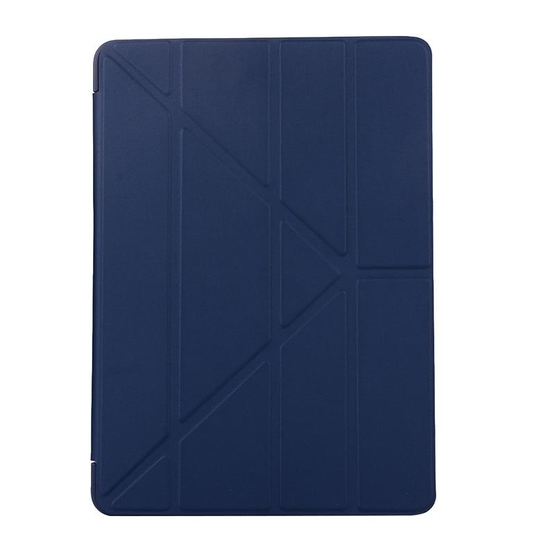 Dark Blue Red Ultra Slim Soft TPU Back Cover Case For Etui iPad 2019 10 2 10 2 A2197