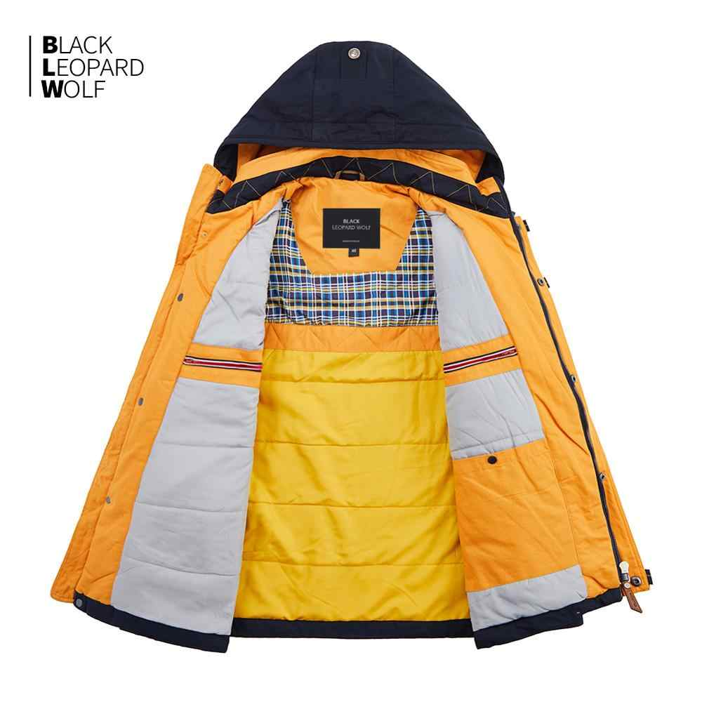 Blackleopardwolf 2019 nueva llegada de primavera chaqueta gruesa de algodón de alta calidad con capucha chaqueta para primavera ZC-027