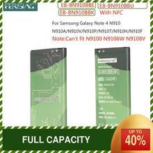 FERISING עבור Samsung Note4 סוללה עבור Samsung Galaxy הערה 4 N910 N910F N910H bateria EB BN910BBE 3220mAh עם NFC סוללות