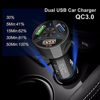 Three Ports Fast Charge USB Car Charger Adapter Car Chargers